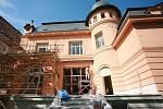 Oprava Löw-Beerovy vily v Brně.