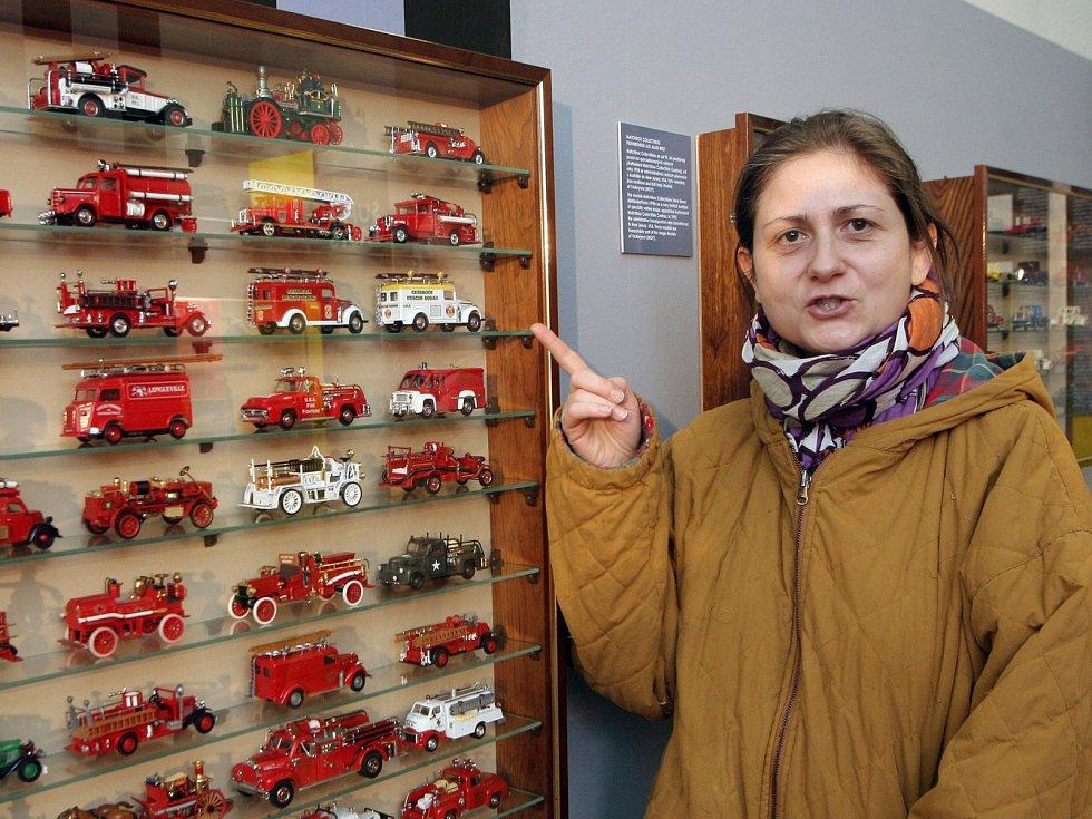 Výstava autíček značky Matchbox na Špilberku.