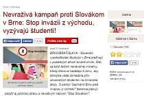 Článek z www.topky.sk.