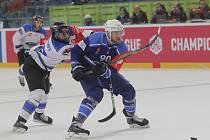 Hokejisté Komety se utkali se švýcarským Zugem.