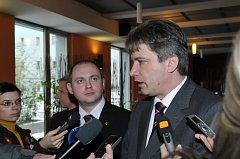 Setkání zástupců města Brna a Jihomoravského kraje