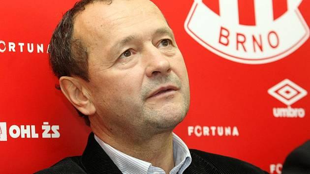 Sportovní ředitel fotbalové Zbrojovky Brno Zdeněk Kudela.
