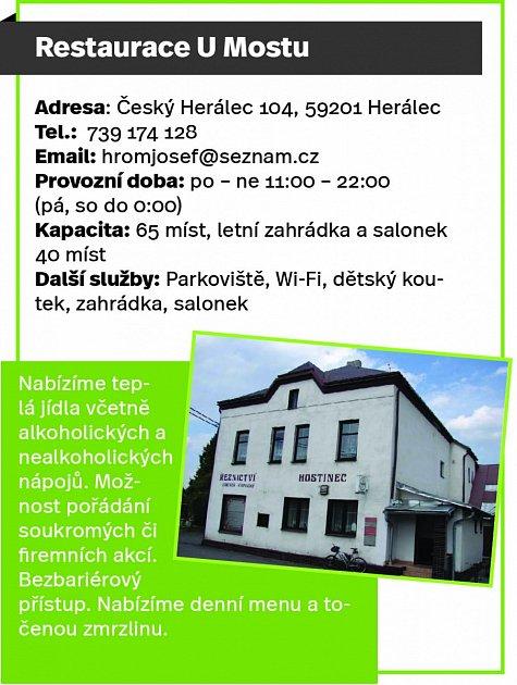 Restaurace UMostu, Český Herálec