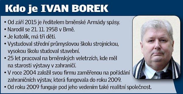 Ředitel brněnské Armády spásy Ivan Borek.