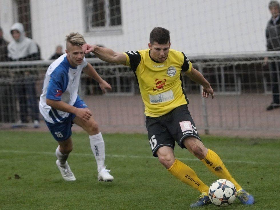 Fotbalisté rosického Slovanu uzavřeli podzimní část divize D remízou s Polnou 1:1.
