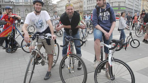 Cyklojízda v Brně. Ilustrační foto.
