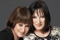 """Martha (vpravo) a Tena Elefteriadu se na koncert v Brně těší. """"I když už v Brně nebydlím, pocit, že jsem v tomto městě taky doma, převládá,"""" říká Martha Elefteriadu."""