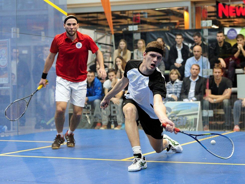 Brněnského squashistu Martina Švece čeká náročný program plný turnajů. Chce vylepšit své postavení ve světovém žebříčku.