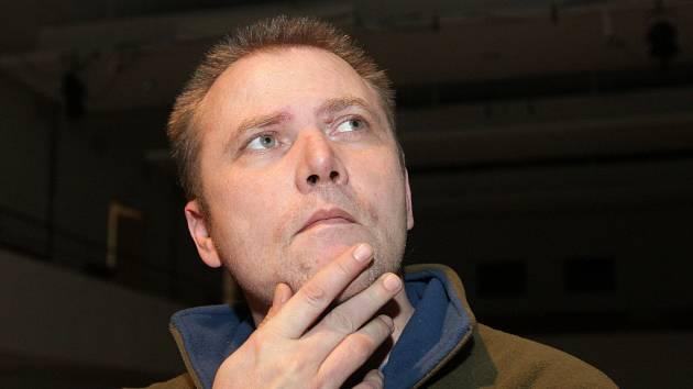 Aleš Hrbek, promotér a spoluzakladatel agentury Glanc.