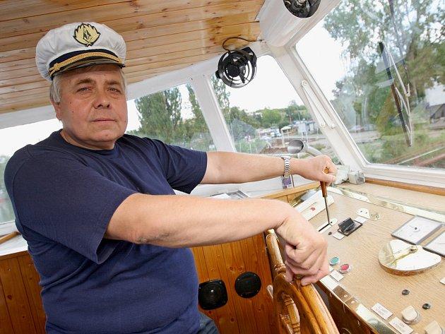 Kapitán Petr Tuček.