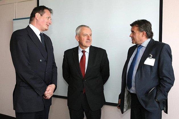 Ministr zdravotnictví Leoš Heger na návštěvě v Brně.