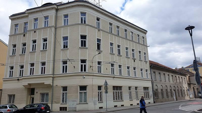 Lokalita bývalého Dřevopodniku při ulici Rumiště v centru Brna.