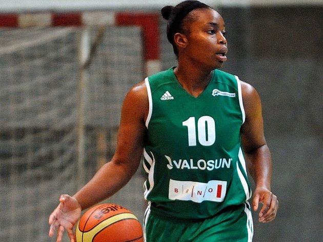 Brněnská basketbalistka Valosunu Dominique Connersová.
