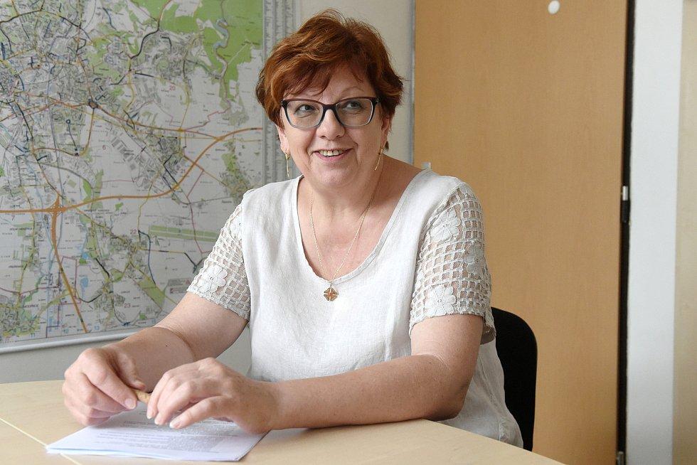 Koordinátorka dopravních staveb Vlasta Jágerová z Brněnských komunikací.
