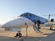 Letadlo pro linku z Brna do Mnichova. Ilustrační foto.