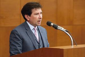 Nový rektor Martin Bareš