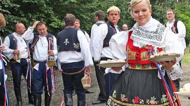 V Hvozdci na Brněnsku slavili hody.