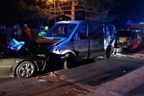 Nehoda v Babicích u Rosic.