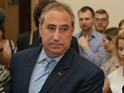 Soudní znalec Michal Zelený na středečním soudním jednání.