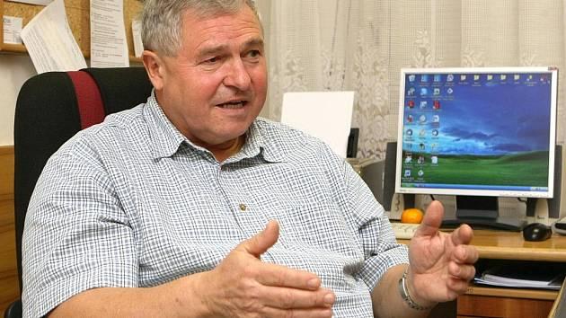 Lubomír Strnad se dlouhá léta podílí na výchově hokejových talentů v Brně.