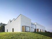 Archeologická základna v Mikulčicích na Břeclavsku. Prostor pro bádající archeology navrhl tým z brněnského studia Pelčák a partner architekti.