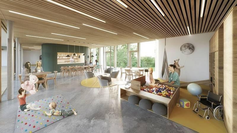 První hospic pro děti vyroste v areálu sociálních služeb na brněnské Kociánce.