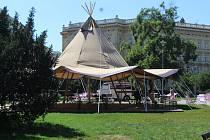 Jurta na Moravském náměstí
