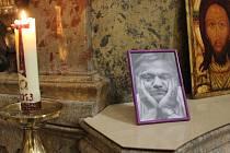 Za písničkáře Karla Kryla sloužili ve čtvrtek 10. dubna zádušní mši v kostele svatého Michala v Brně.