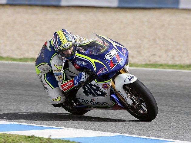 Brněnský motocyklový závodník Karel Abraham si v Austrálii zajel životní výsledek. Šesté místo.