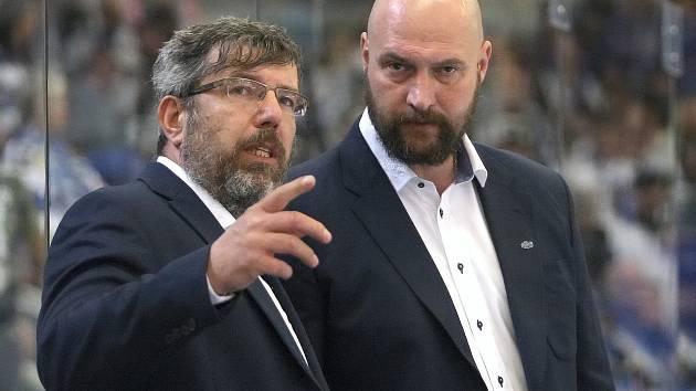 Na snímku zleva Kamil Pokorný a Libor Zábanský.