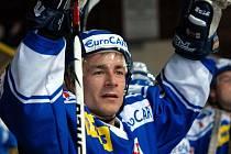 Útočník Milan Kostourek si připsal tři kanadské body a byl vyhlášen hvězdou zápasu.