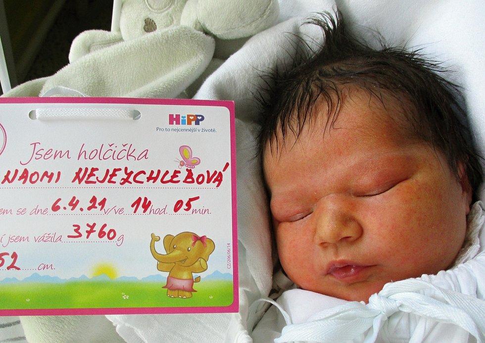 Naomi Nejezchlebová, 6. 4. 2021, Křepice, Nemocnice Břeclav, 3760 g, 52 cm