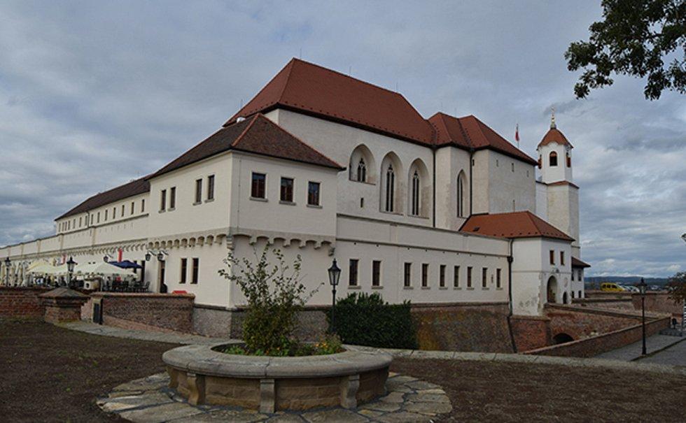 Hrad Špilberk v Brně.