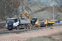 Aktuální stav prací na stavbě Žabovřeská II, 23. března 2021.