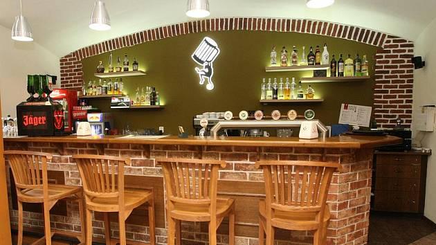 Restaurace Pivní opice v Brně.