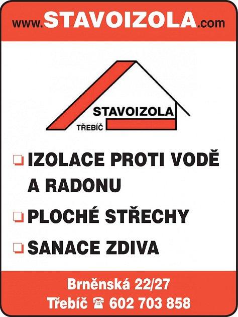 Stavoizola, Třebíč