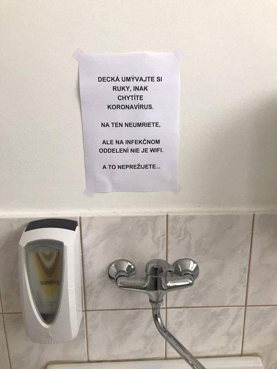 Příspěvek sdílený čtenářkou na facebookovém profilu Břeclavského deníku Rovnost.