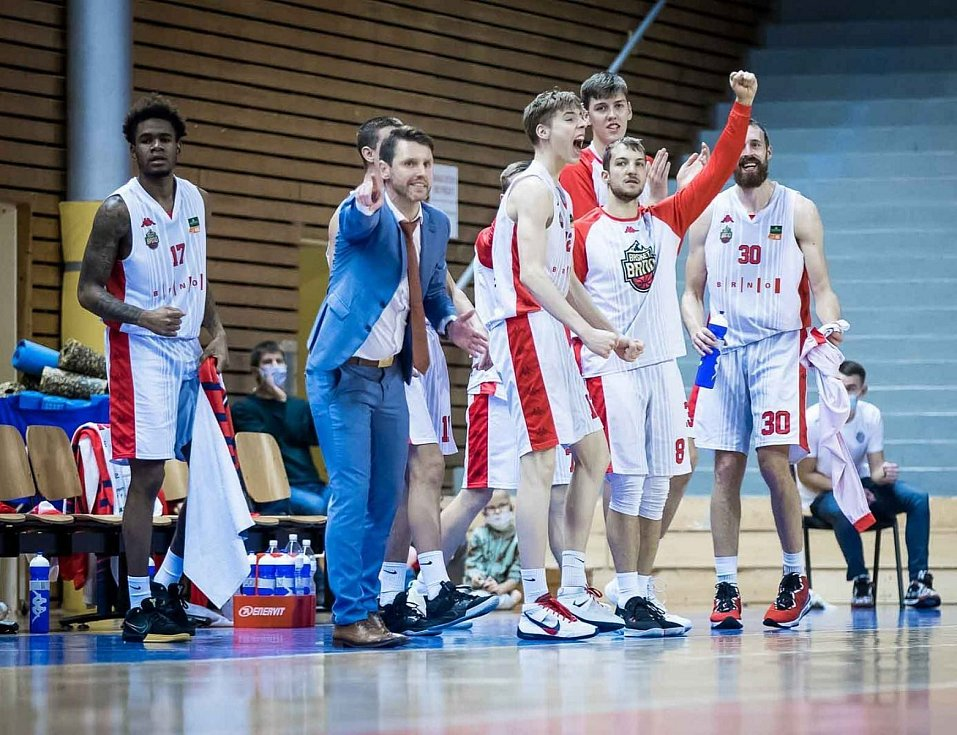 Lubomír Růžička při utkání Basketu.