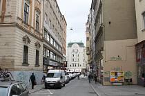 Běhounská ulice v Brně.