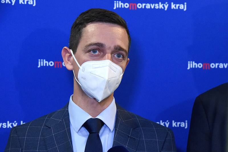 Hejtman Jihomoravského kraje Jan Grolich.