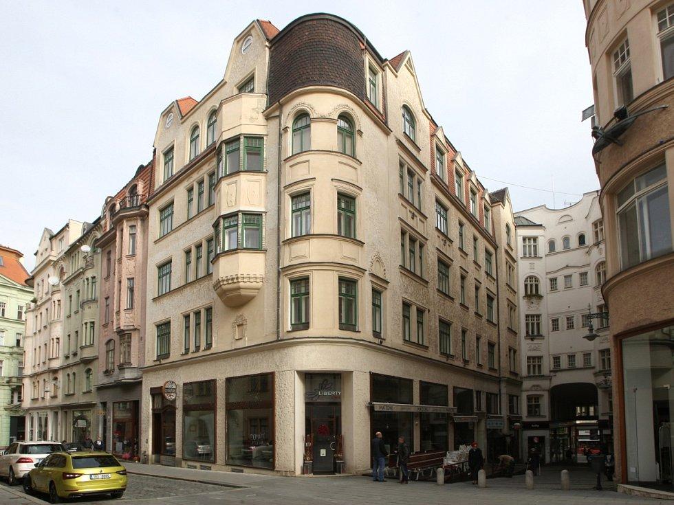 Dům určený ke směně za pozemky pro stavbu stadionů za Lužánkami - Průchodní ulice 1.