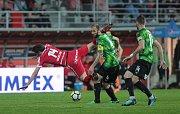 Konečně gól. Zbrojovka vstřelila branku po 570 minutách, přesto s Plzní prohrála.