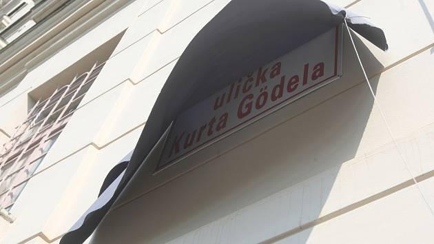 Ulička Kurta Gödela.
