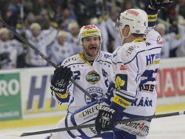 Hokejová Kometa Brno porazila Zlín jasně 5:0 a postoupila do semifinále.