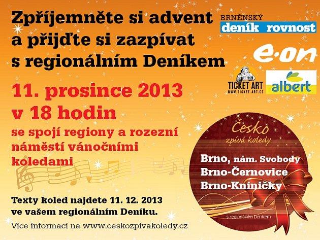 Česko zpívá koledy 2013.