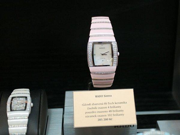Hodinky milionářů. Zvýstavní putovní kolekce švýcarských hodinek