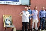 Práce na stavbě nového kostela v brněnské Lesné začaly v září.