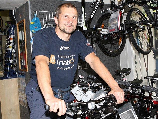 Bývalý triatlonista Tomáš Kočař.
