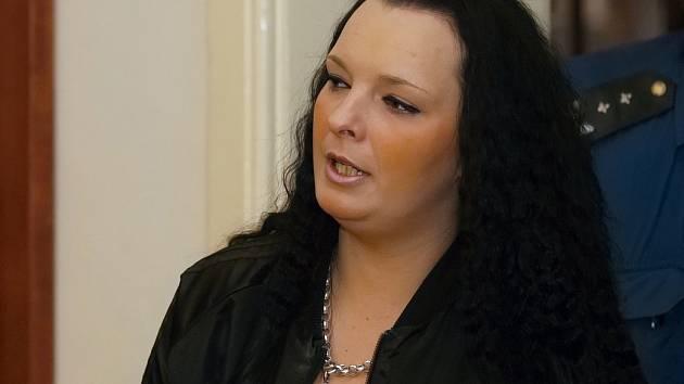 Ivona Habánová před soudem.
