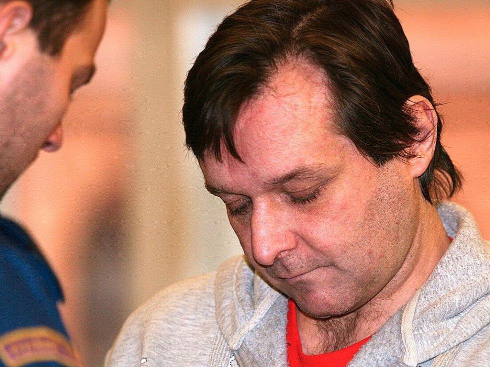 Pavel Bartuschek u brněnského soudu.